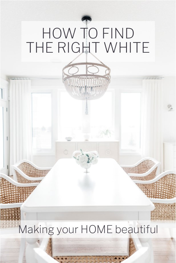 How to choose the right white paint