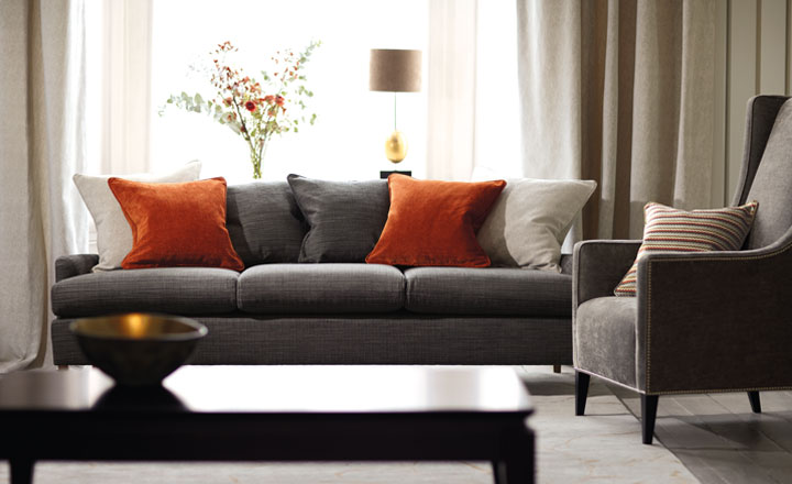 How to use orange for interiors