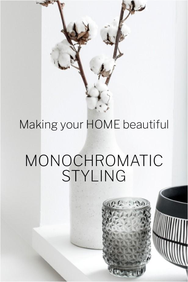 Monochromatic colour palettes - Black and White