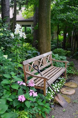 The Humble Garden Bench