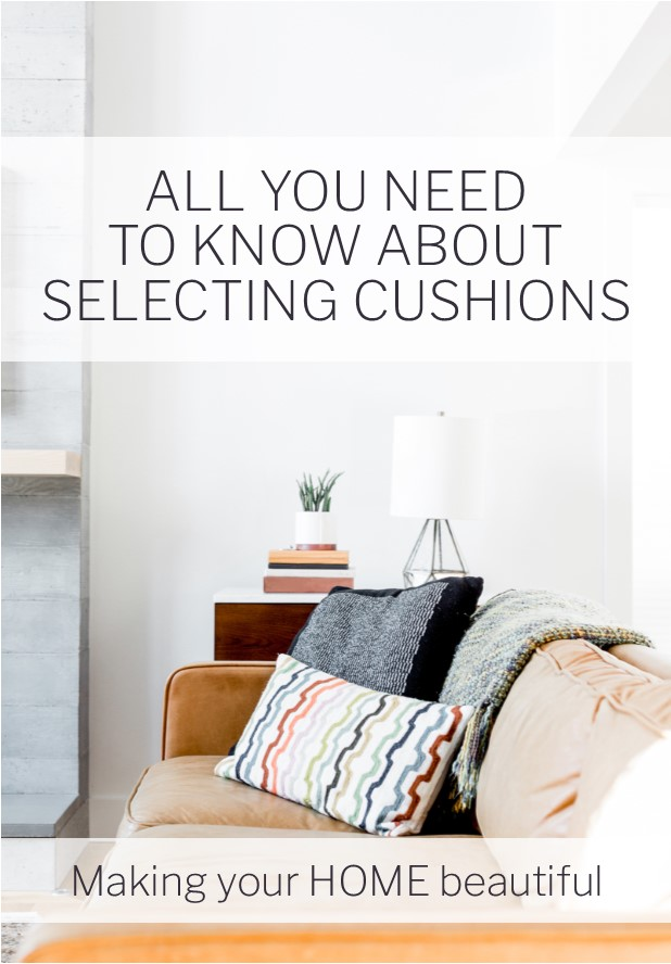 How to choose cushions