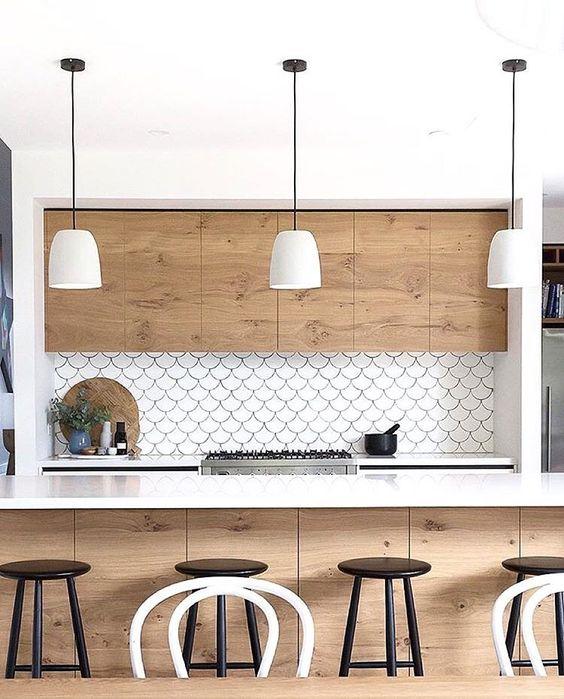 My Guide to a Contemporary Timber Kitchen