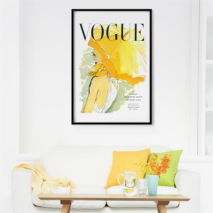 How to display a statement artwork