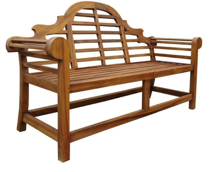 A Lutyens Style bench from Zanui