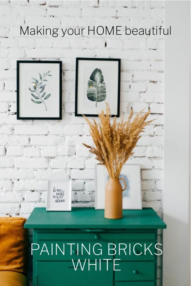 Painting Bricks White