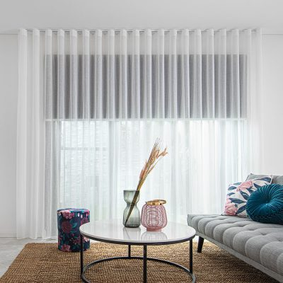 How to complete a room with sheers