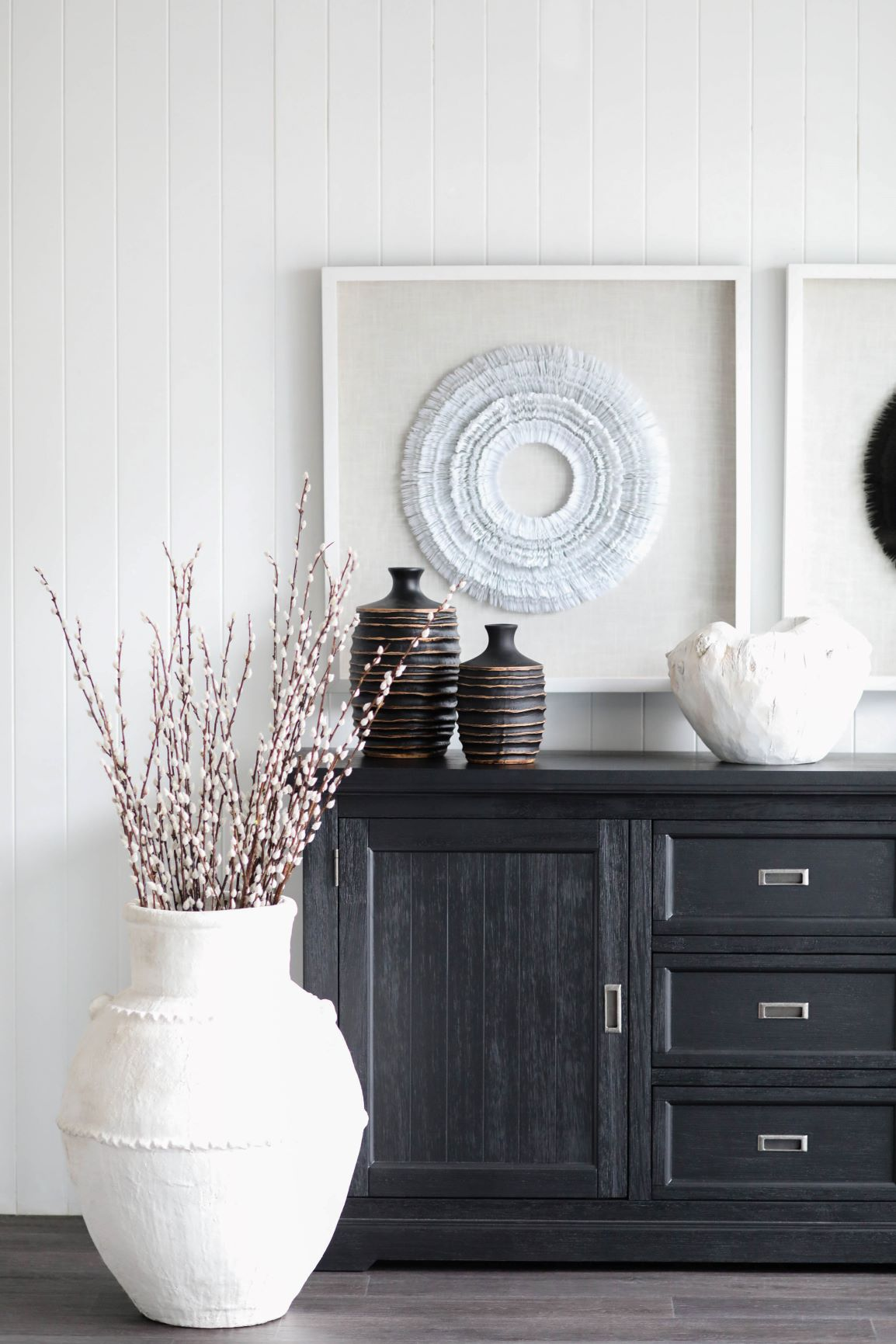 Monochromatic colour schemes - Black and white