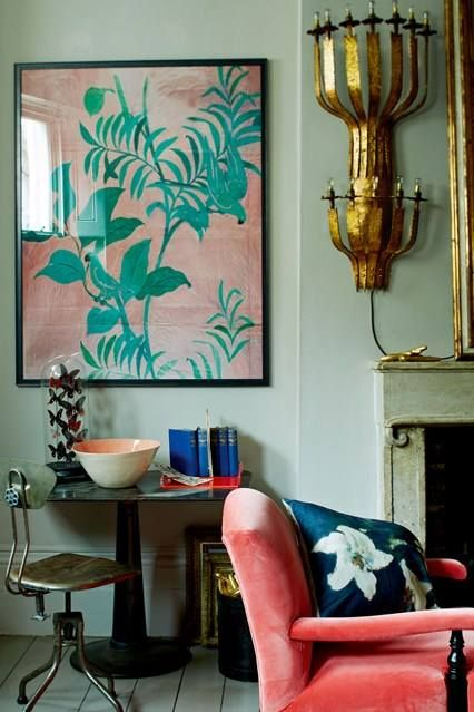 Pantone Living Coral - how to use it in your home