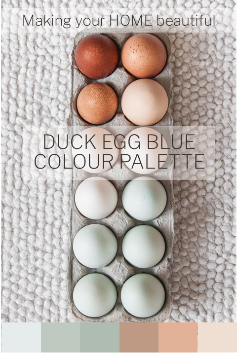 How to use Duck Egg Blue