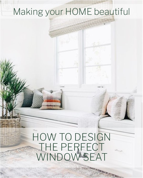 How to design the perfect window seat
