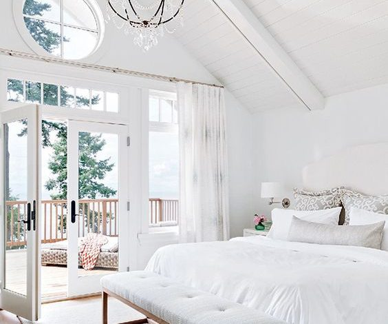 Stylish White Bedrooms