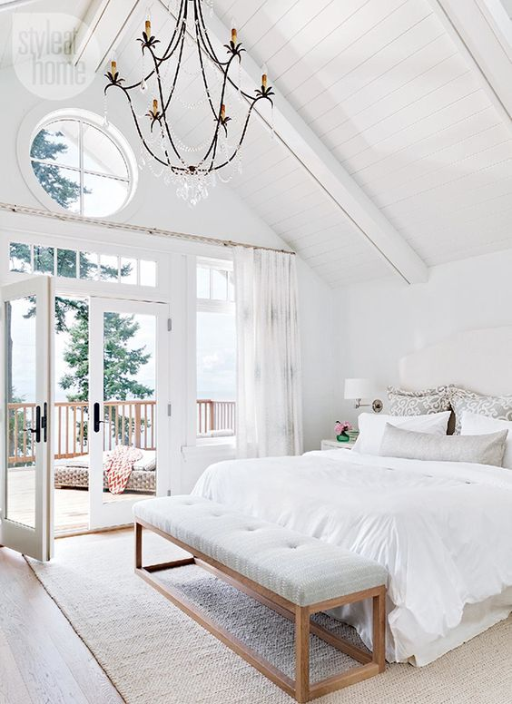 Stylish White Bedroom Schemes - Making your Home Beautiful