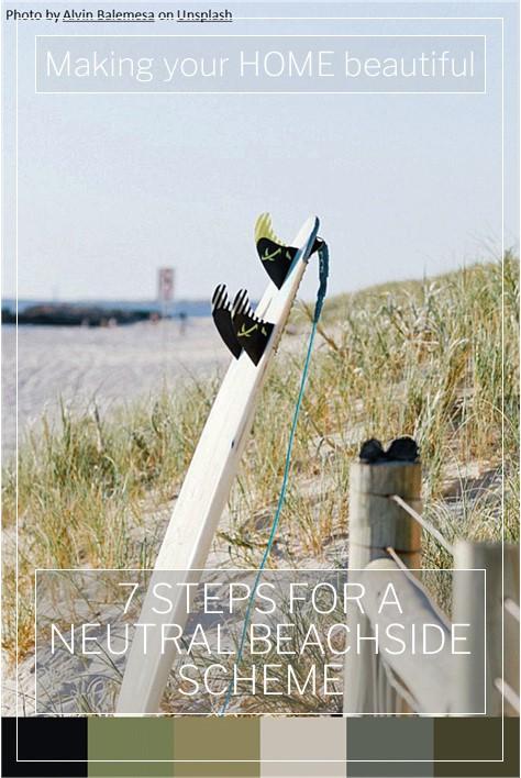 7 steps to a neutral beachside scheme