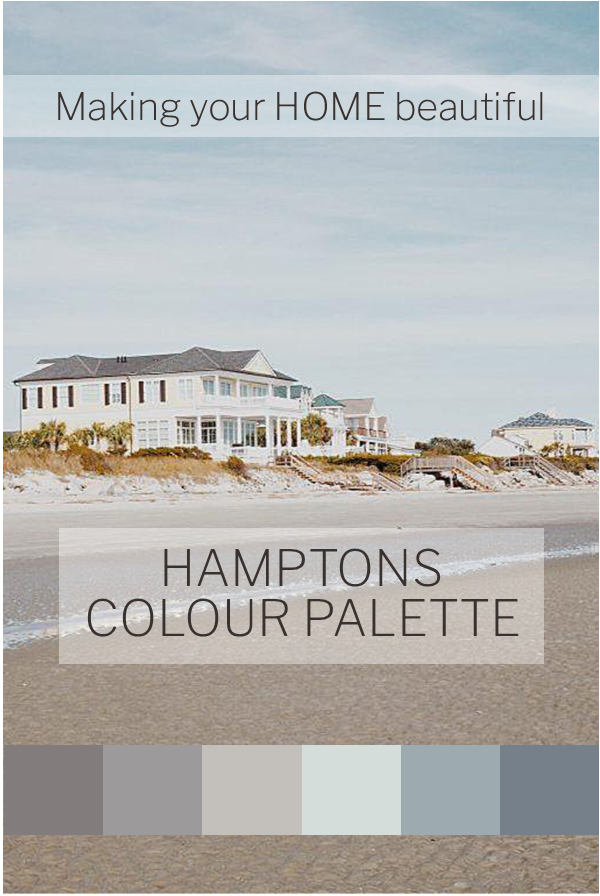 Hamptons Style - 7 steps to achieve this look