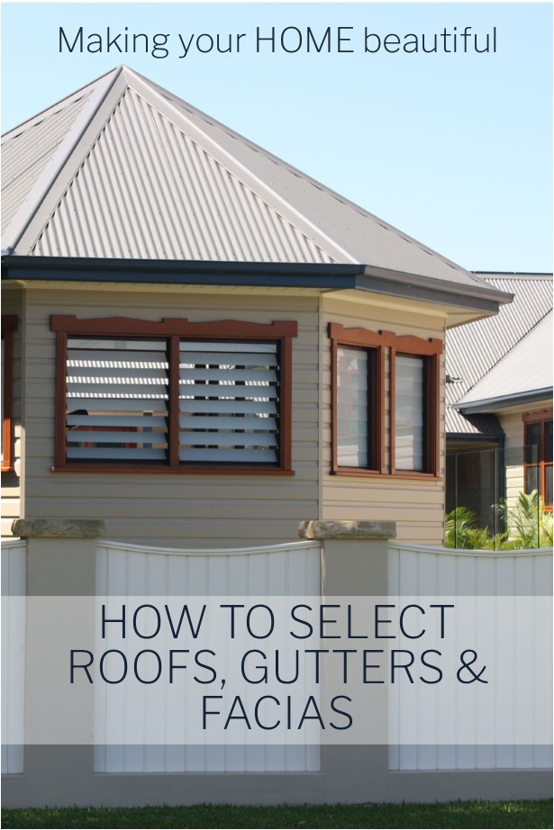 How to choose roofs, gutters and fascias