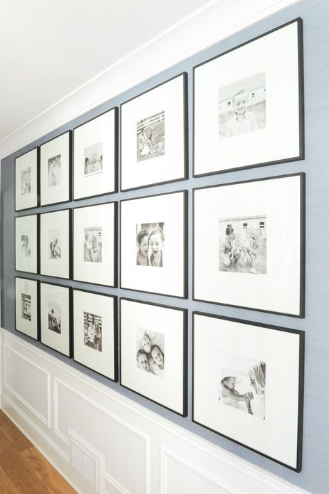 How to put a gallery wall together