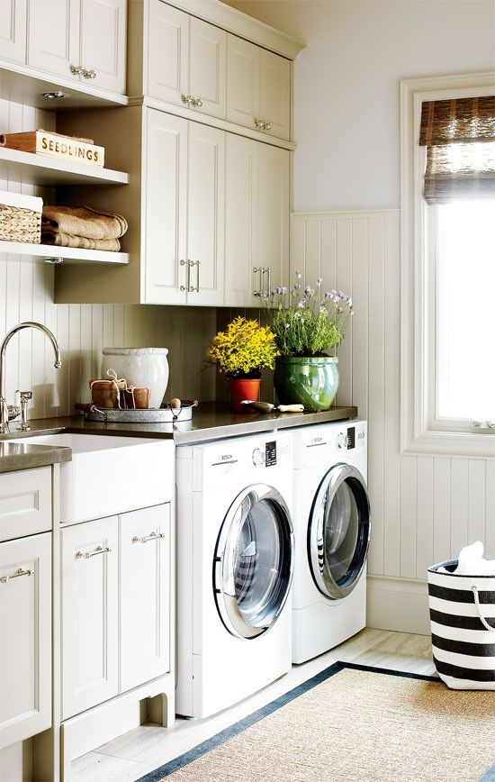 10 things to include in a laundry room design