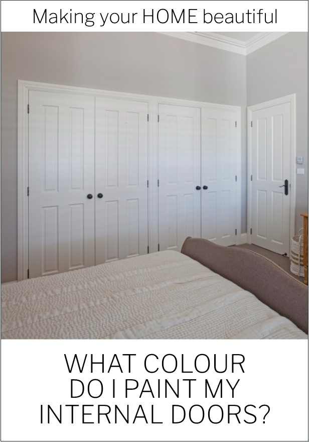 What colour should I paint my internal doors
