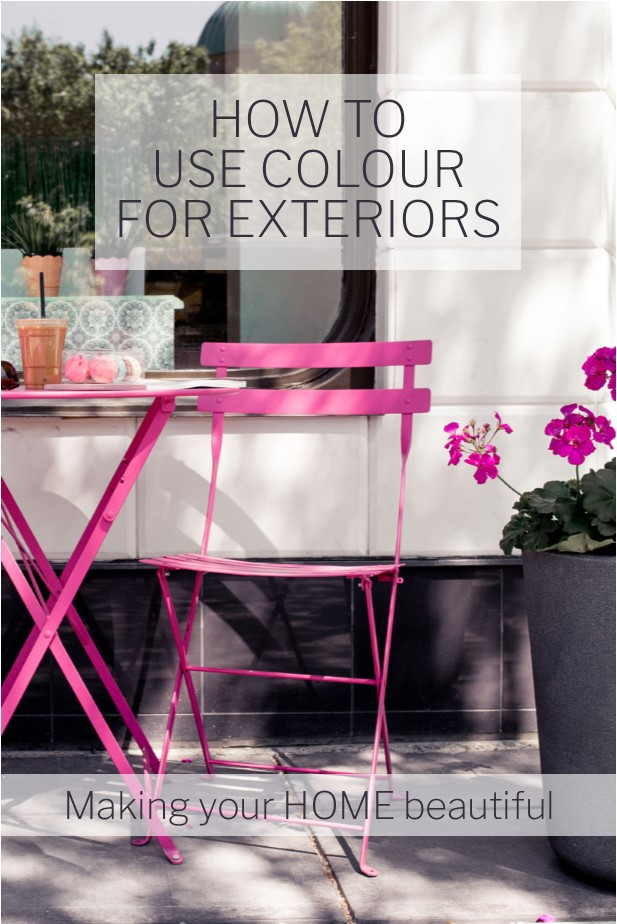 How to use colour for exteriors