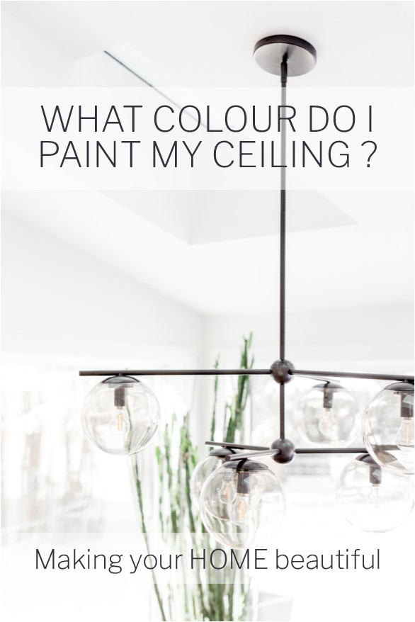 What colour do I paint my ceiling?