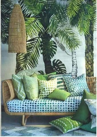 Tropical Style - How to achieve this look