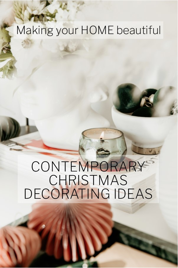 Contemporary Christmas Decorating Ideas