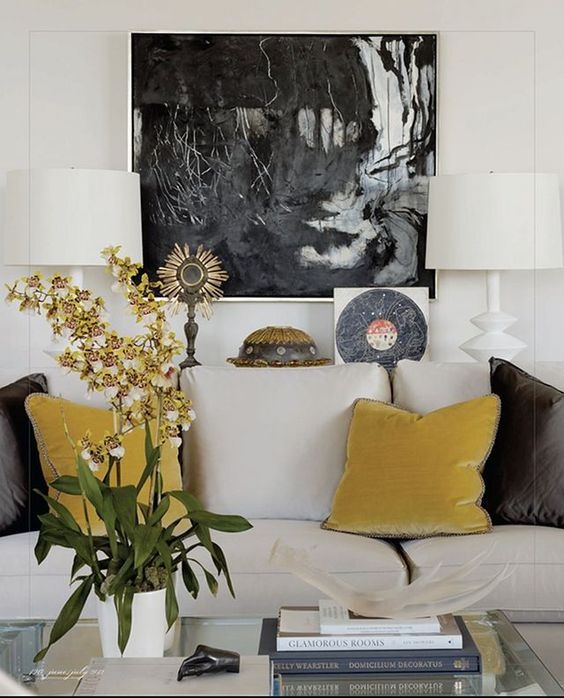 How to decorate with mustard