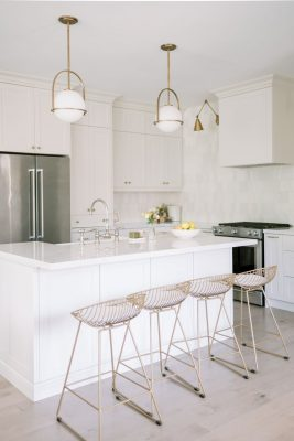 How to achieve a classic white kitchen