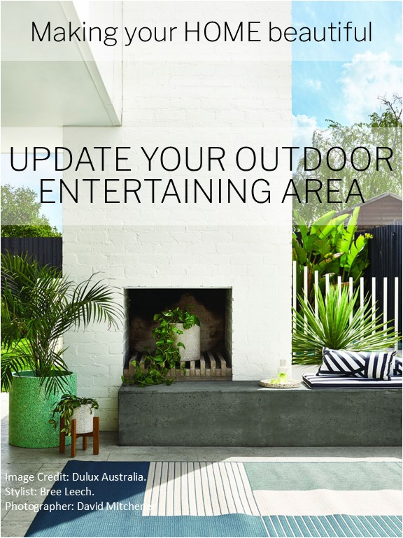 Updtae your outdoor entertaining area