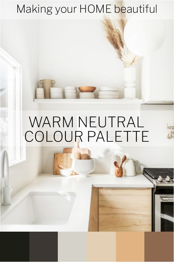Why warm neutrals are so easy to use
