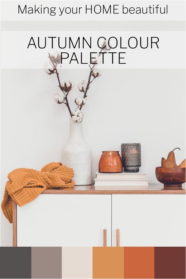 Contemporary Autumn Colour Palettes