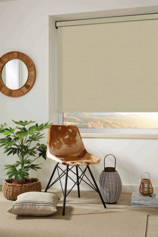Control heat and light with these interior and exterior roller blinds