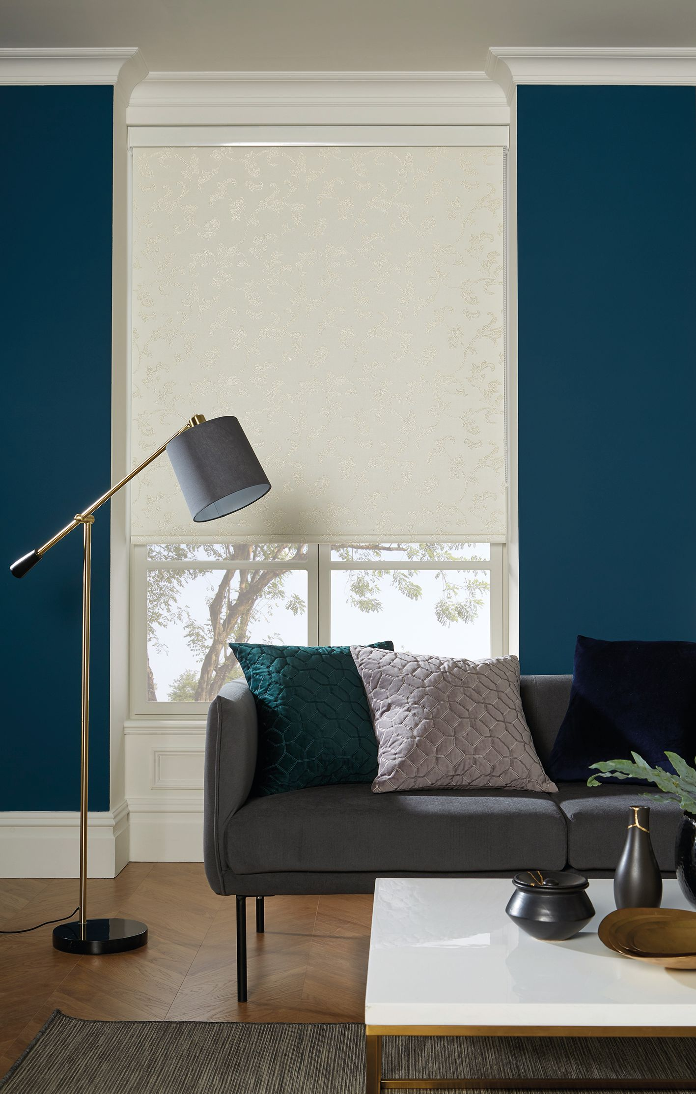Control heat and light with roller blinds