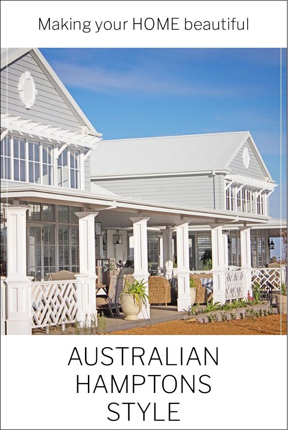 Australian Hamptons Style