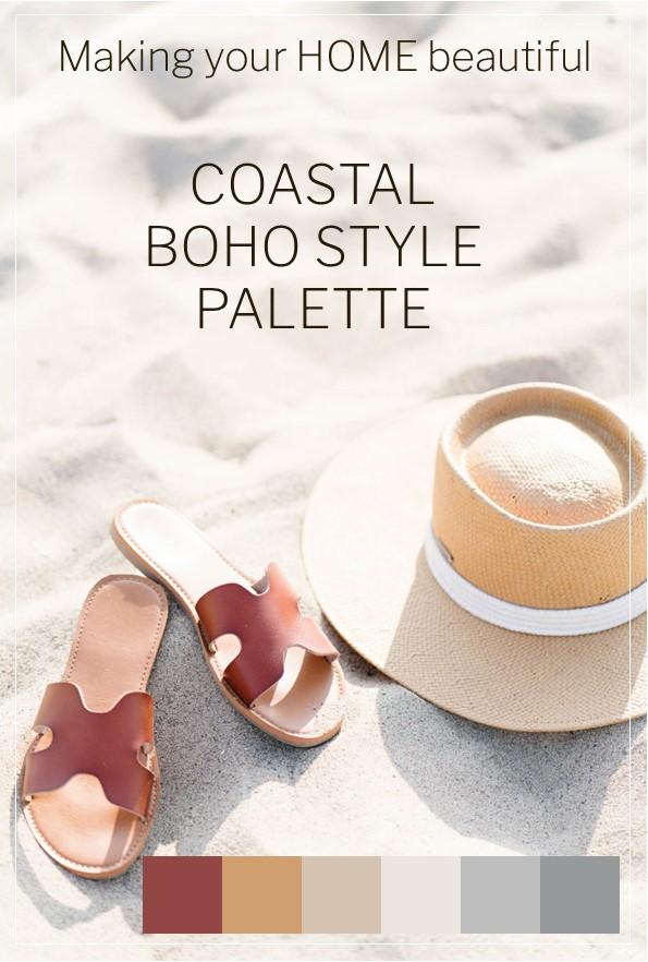 7 steps to achieve a Coastal Boho Style