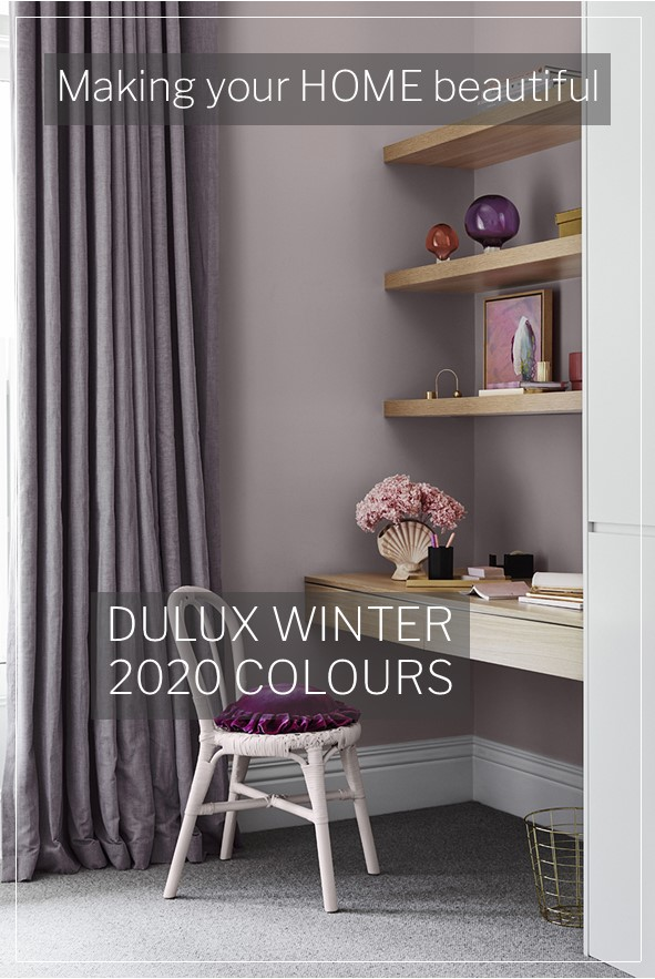 Dulux Winter 2020 colours