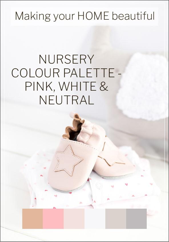 Nursery colour palette