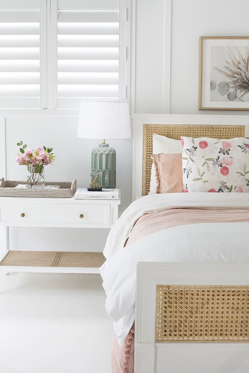 How to introduce rattan into your bedroom scheme