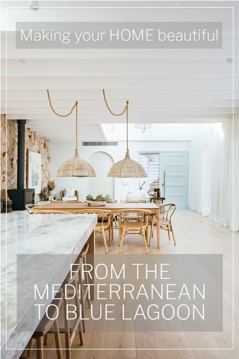 Designing a home on the Central Coast with Mediterranean influences