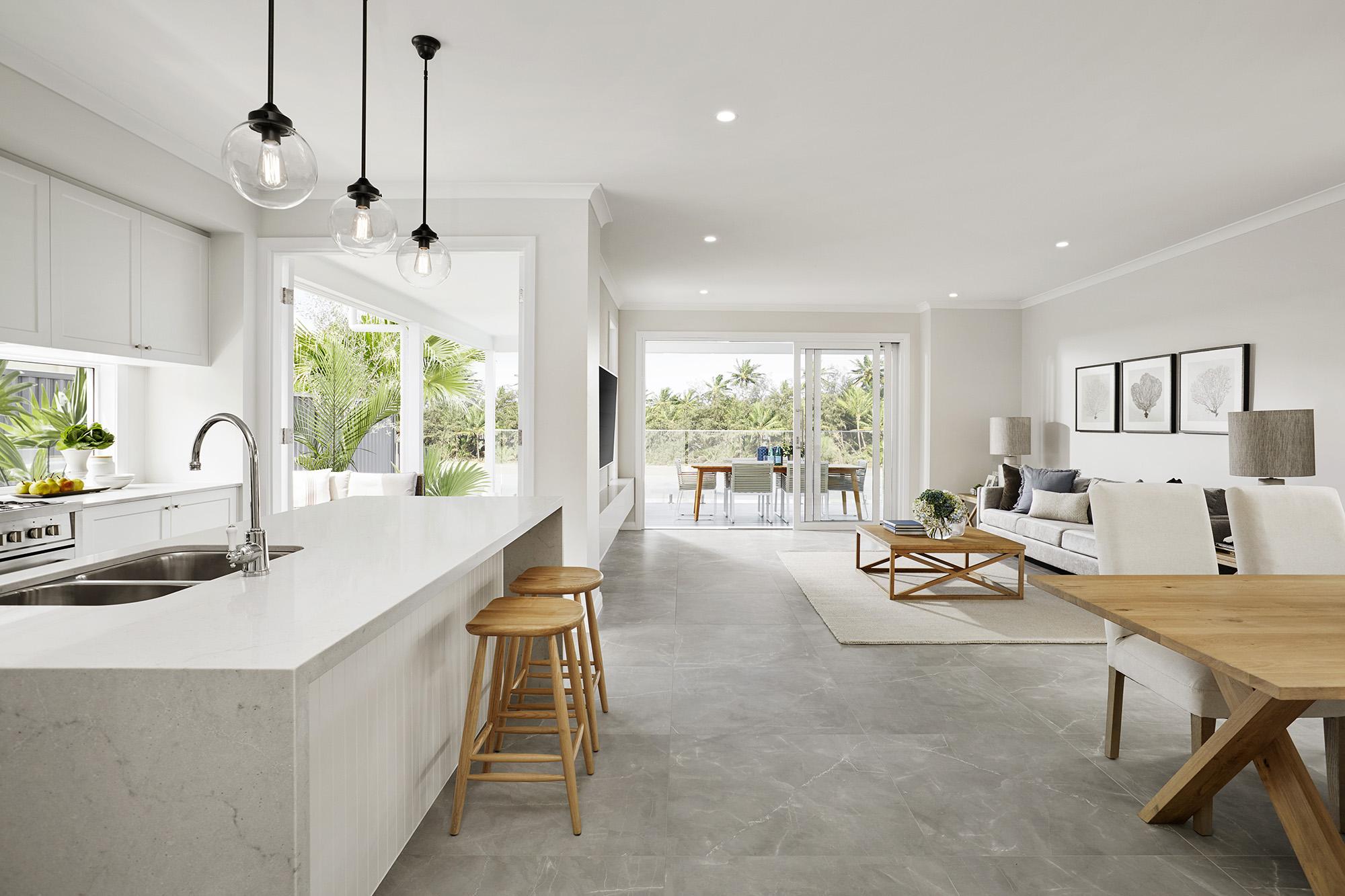 Hamptons style in Queensland