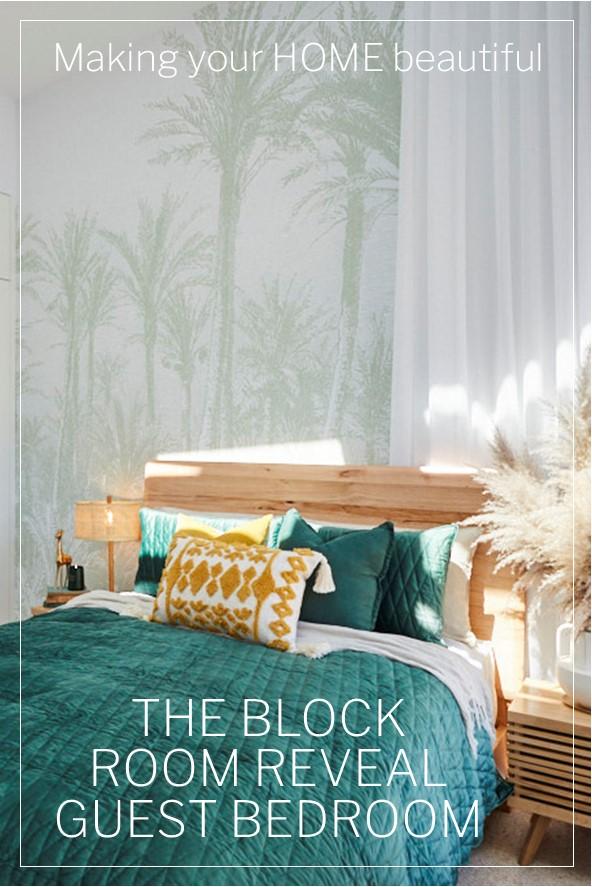 The Block Guest Bedroom Room Reveal