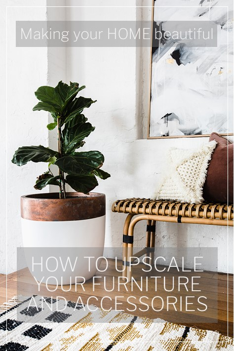 Upscale furniture with Dulux