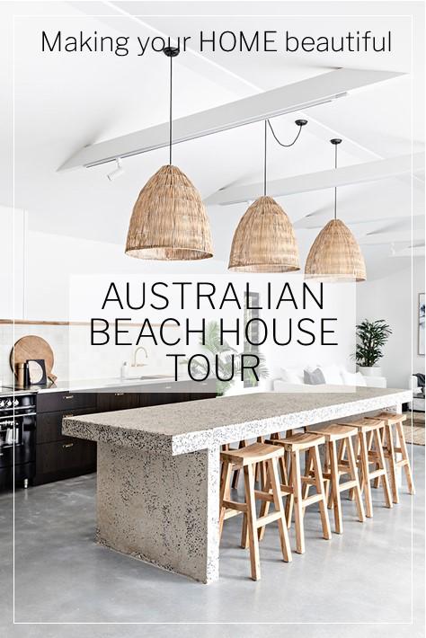 Australian Beach House Tour