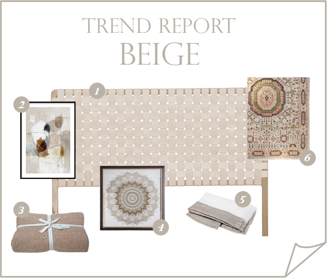 Decorating with the new beige