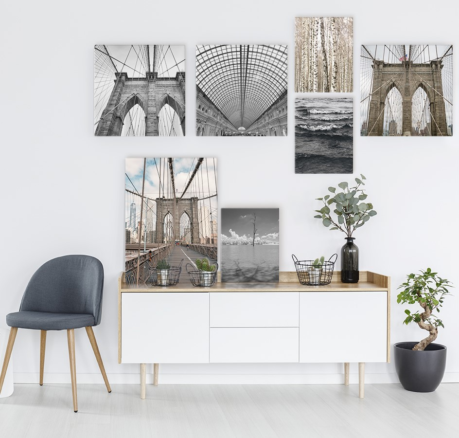 How to decorate with canvas prints