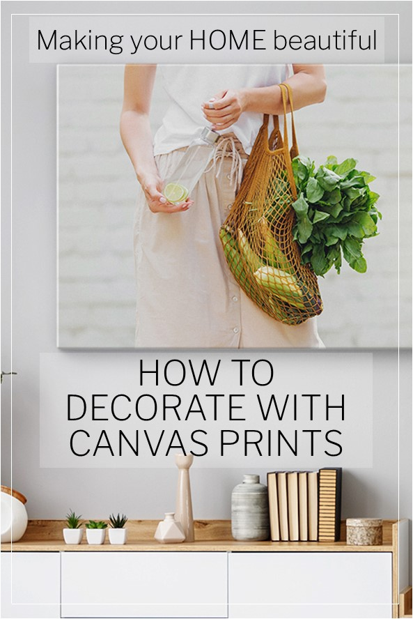 Decorate with Canvas artworks