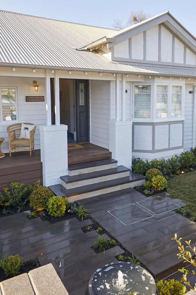 The Block 2020 Front Garden and Facade Reveal