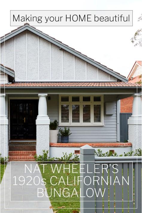 Nat Wheeler's 1920s Californian Bungalow Renovation