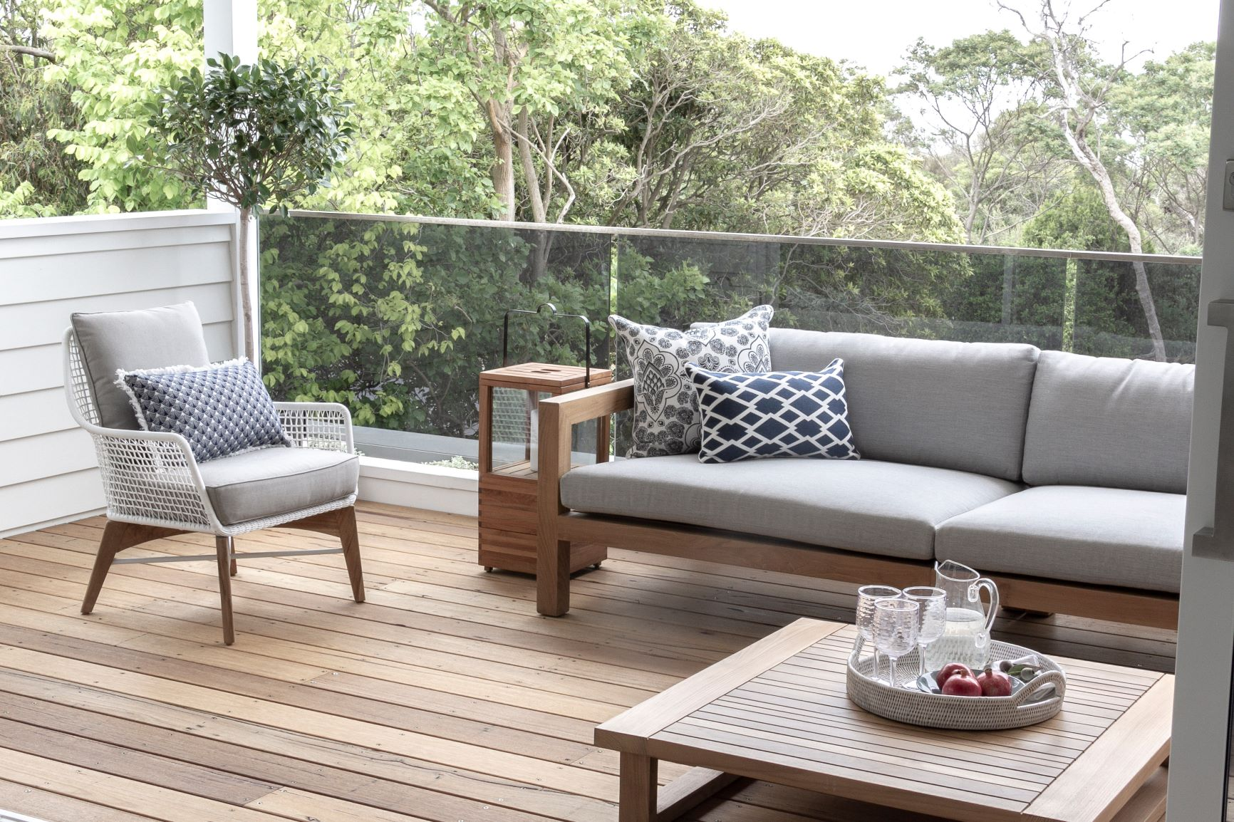 Connect the indoors to the outdoors