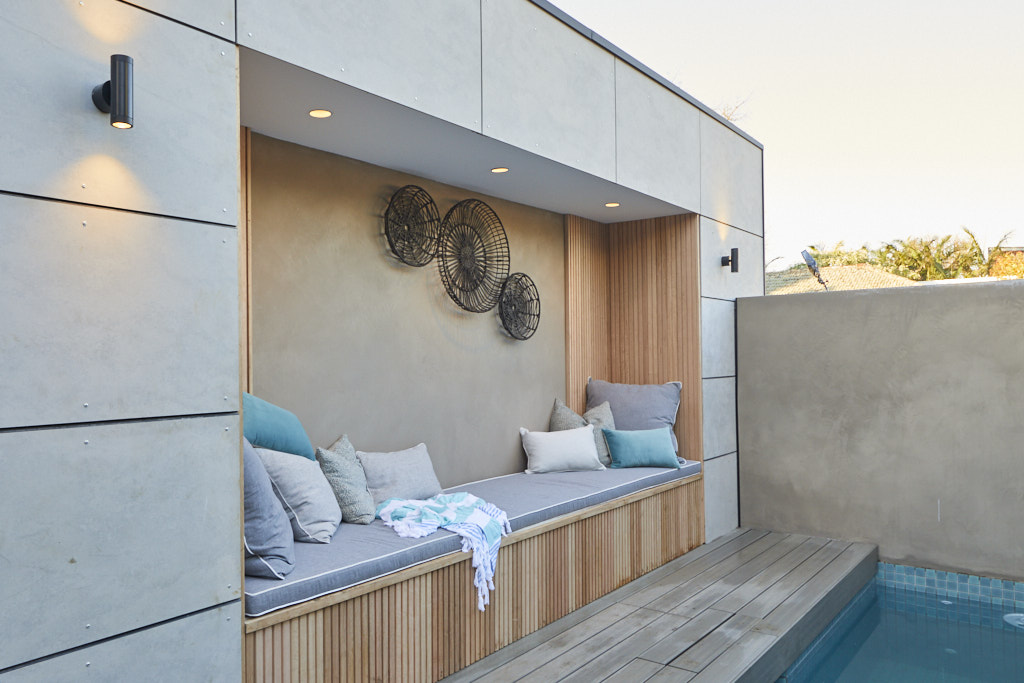 The Block 2020 Back Garden and Pool Reveal